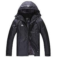 Мужская зимняя куртка на искусственном меху Adidas р-р 50,52.