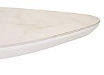 Стіл обідній TML-866 білий мармур, кераміка, розкладний, фото 2