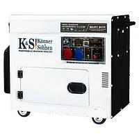 Дизельный генератор KonnerSohnen KS 9200HDES-1 3 ATSR OB, КОД: 1236969