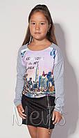 Детское платье туника для девочки р.122 -146