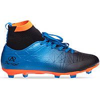 Бутсы с носком Pro Action PRO-1000-25 44 Синий-черный-оранжевый TP, КОД: 2579900