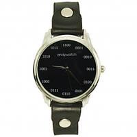Дизайнерские наручные часы - Бинарный код