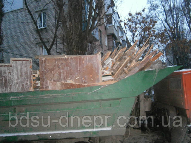 Вывоз мусора КамАЗом