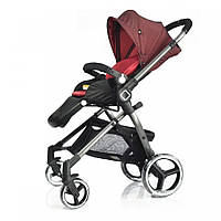 Универсальная детская прогулочная коляска Evenflo Vesse Red LC839A-W8BD FG, КОД: 1815326