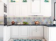 Наклейки кухонный фартук Zatarga Орнамент 03 600х2500 мм Зеленый Z180098 1 MN, КОД: 1833100