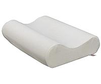 Ортопедическая подушка UKC Memory pillow с памятью Белая MD, КОД: 2676327