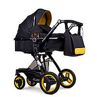 Универсальная коляска трансформер Ninos Bono Yellow Black N2019BONOY KB, КОД: 1236521