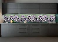 Наклейки кухонный фартук Zatarga Весеннее цветение 600х2500 мм Белый Z180098 1 OB, КОД: 1833104