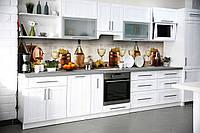 Наклейки кухонный фартук Zatarga Бочки 600х2500 мм Коричневый Z180325 KB, КОД: 1926993