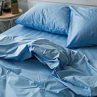 Комплект постельного белья Хлопковые Традиции Двухспальный 175x215 Голубой PF04двуспальный KB, КОД: 740586