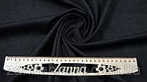 Тканина джерсі на флісі колір графітовий (темно-сірий)
