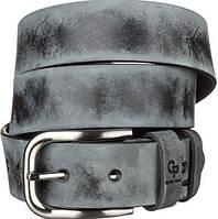 Ремень мужской Grande Pelle 11062 под джинсы Серый, Серый GL, КОД: 190142