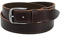 Ремень мужской из кожи под джинсы Skipper 3.8 см Коричневый 1308-38 TS, КОД: 1636663