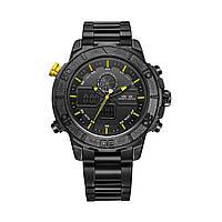 Часы Weide Yellow WH6108B-3C SS WH6108B-3C ZZ, КОД: 116262