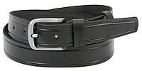 Мужской ремень Skipper из кожи под джинсы ширина 3,8 см Черный 1262-38 SM, КОД: 1499276