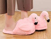 Домашние тапочки W-Slippers Фламинго nude rose 123688R MD, КОД: 2543019