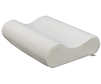 Ортопедическая подушка UKC Memory pillow с памятью Белая IB, КОД: 2676327
