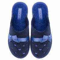 Комнатные тапочки Белста 38 24,5 см Синие 4100365 SM, КОД: 1925813