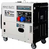 Дизельный генератор KonnerSohnen KS 8200HDES-1 3 ATSR KB, КОД: 1236968