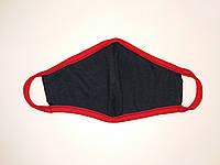 Маски защитные для детей Valeo многоразовые двухслойные 12 шт. Черный hubjZsP70895 TP, КОД: 1625657
