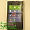 Nokia_XL, черный_силиконовый чехол