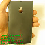 Nokia_XL, черный_силиконовый чехол, фото 3