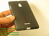 Nokia_XL, черный_силиконовый чехол, фото 6