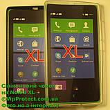Nokia_XL, черный_силиконовый чехол, фото 7