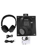 Навушники безпровідні SY-BT1603 Bluetooth з мікрофоном, 240 маг  ск4