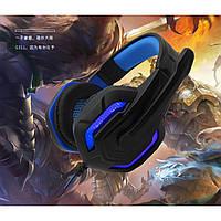 Комп'ютерні ігрові навушники з мікрофоном KOMC G311 / Високоякісні дротові навушники  ск4