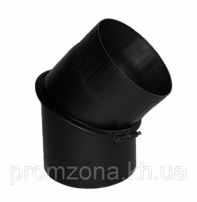Дымоходное коліно KAISER PIPES 45° універсальне регульоване (2мм) Ø200