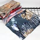 """Кашеміровий двосторонній шарф палантин """"Індіра"""" Cashmere 102001, фото 2"""