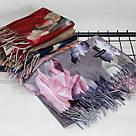 """Кашемировый двусторонний шарф палантин """"Индира"""" Cashmere 102007, фото 2"""