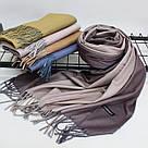 Кашемировый двухстонный шарф палантин Cashmere 106005, фото 2
