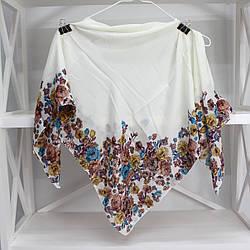 """Хустка жіноча бавовняна """"Міла"""" (75х75 см) 303006"""