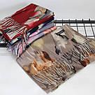 """Кашеміровий двосторонній шарф палантин """"Індіра"""" Cashmere 102005, фото 2"""