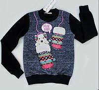 Свитшот для девочки Mini Moda 128р, фото 1