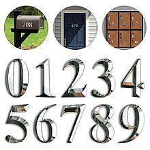 Самоклеюча дверна наклейка 8 см з номером, поштовий ящик квартири для дому, кабінету, дверна табличка
