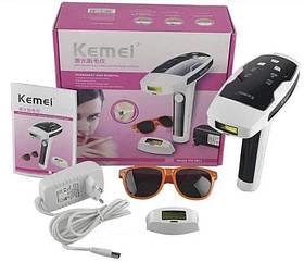 Лазерный эпилятор Kemei KM-6812 фотоэпилятор для всего тела