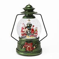 """Музыкальный снежный шар """"Рождественский фонарь"""" 6016-015. Новогодний декор"""