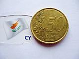 Евромонета 50 евроцентов Кипр 2008 год, фото 2