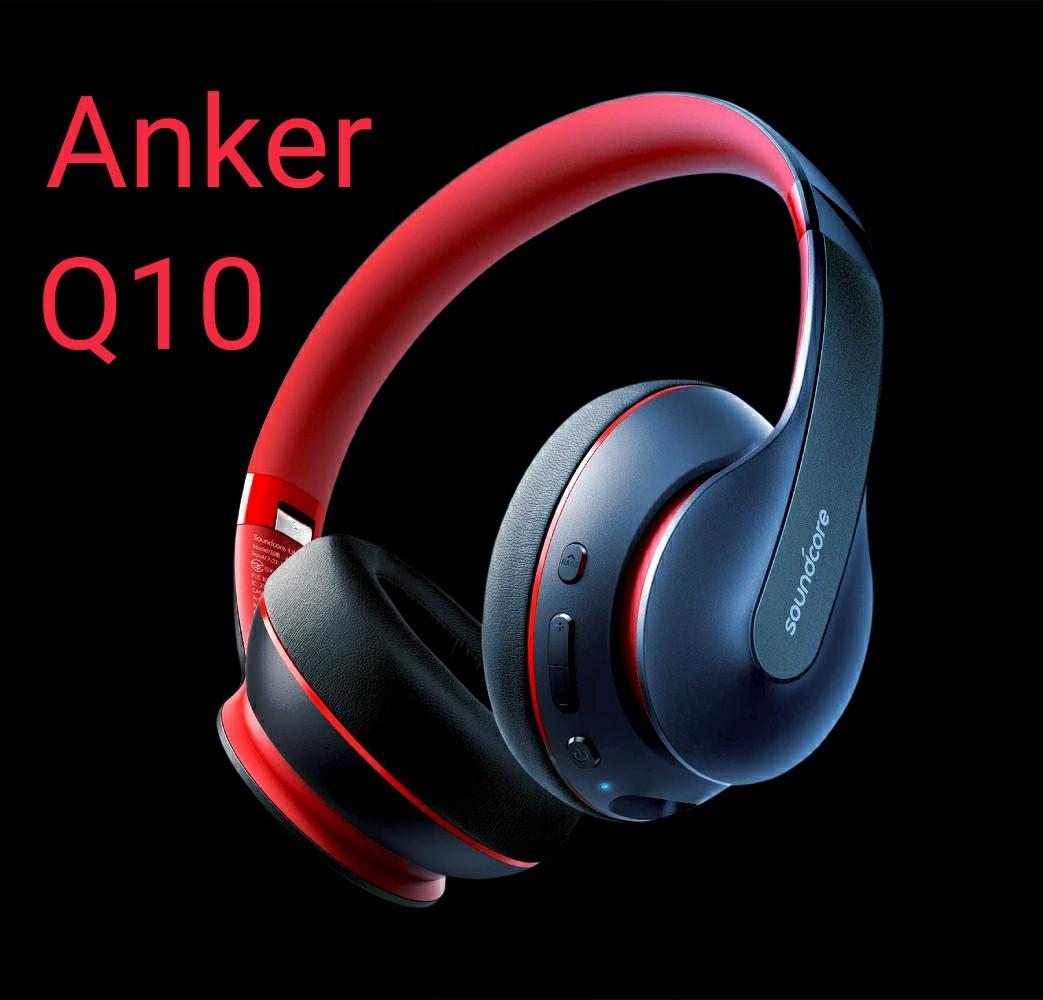 Гібридні навушники Anker Soundcore Life Q10 з активним шумозаглушенням бездротові накладні Bluetooth