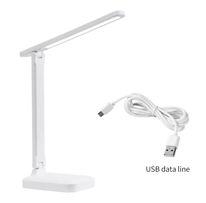 Настільна світлодіодна лампа з USB 8 Вт 3500-6000K