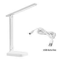 Настільна світлодіодна лампа з USB 8 Вт 3500-6000K, фото 1