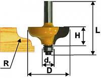 Фреза кромочная калевочная ф38.1х16, r6.3, хв.8мм (арт.9257)