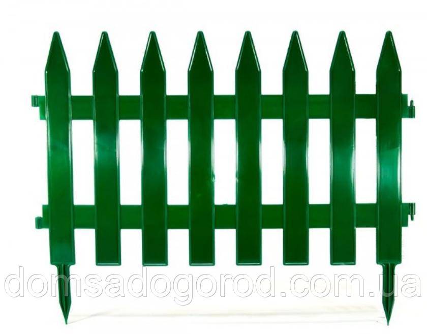 Декоративний паркан пластиковий 4 секції