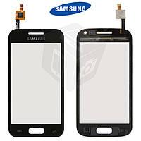 Touchscreen (сенсорный экран) для Samsung Galaxy Ace 2 i8160, черный, оригинал