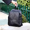 Городской черный Рюкзак на одно отделение Длинные ремешки регулируются, фото 5