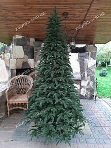 Литая елка Канадская 2.10 м. зеленая // Лита ялинка / Ёлка искусственная / Ель / Эль