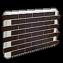 Клінкерна термопанель 1015*600*50 мм з клінкерною плиткою Червона рустикальна, Церрад, фото 2